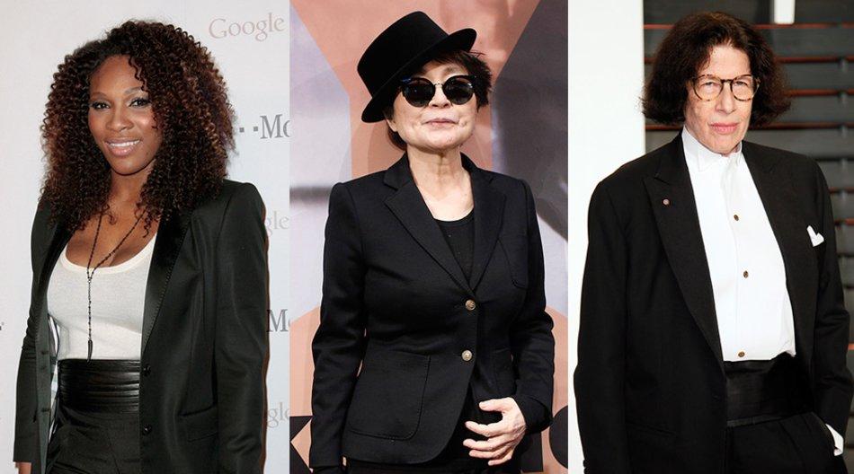 Serena Williams, Yoko Ono, Fran Lebowitz