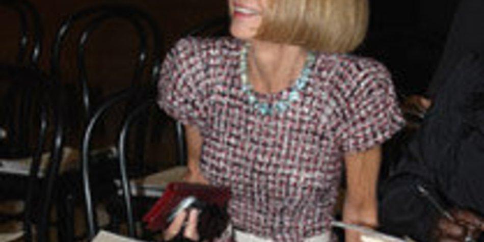 Anna Wintour auf Mode-Reise