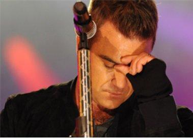 Robbie Williams kämpft