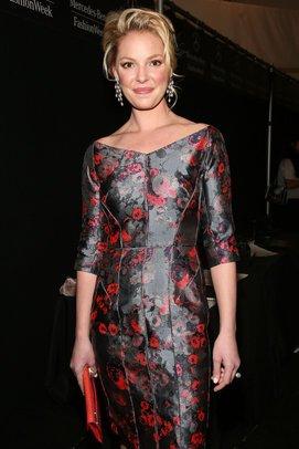 Katherine Heigl auf der New York Fashion Week