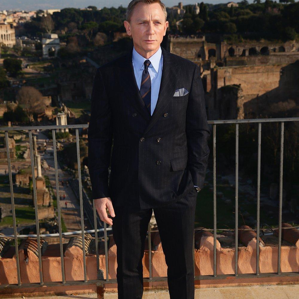 Daniel Craig kann es nicht fassen, dass er James Bond spielt