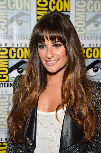 Lea Michele: Ombre Hair