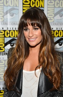 Lea Michele: Ombre Hair