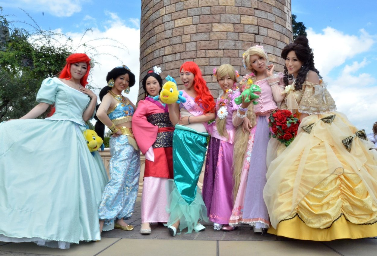 Kindheitshelden Disney Prinzessinnen