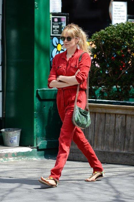 Sienna Miller in New York