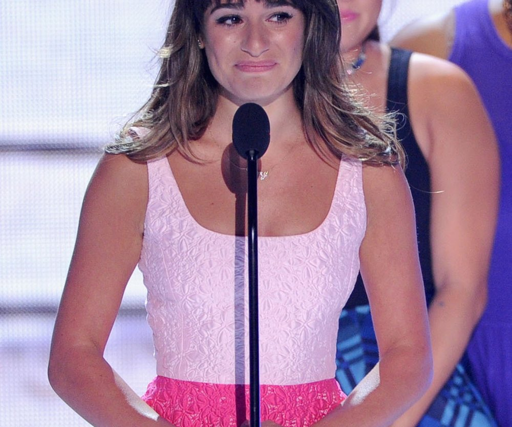 Lea Michele bleibt tapfer!