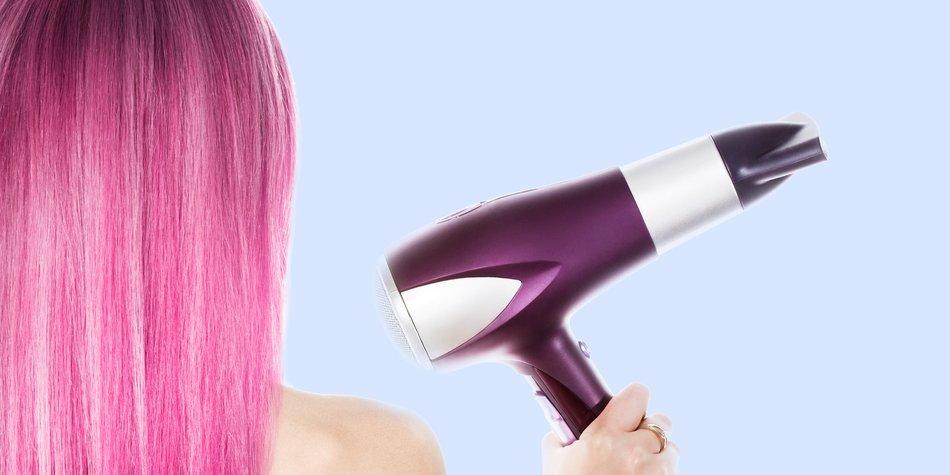 Pinke Haare
