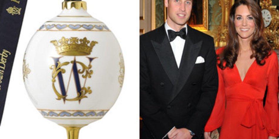 Prinz William und Kate an den Weihnachtsbaum?