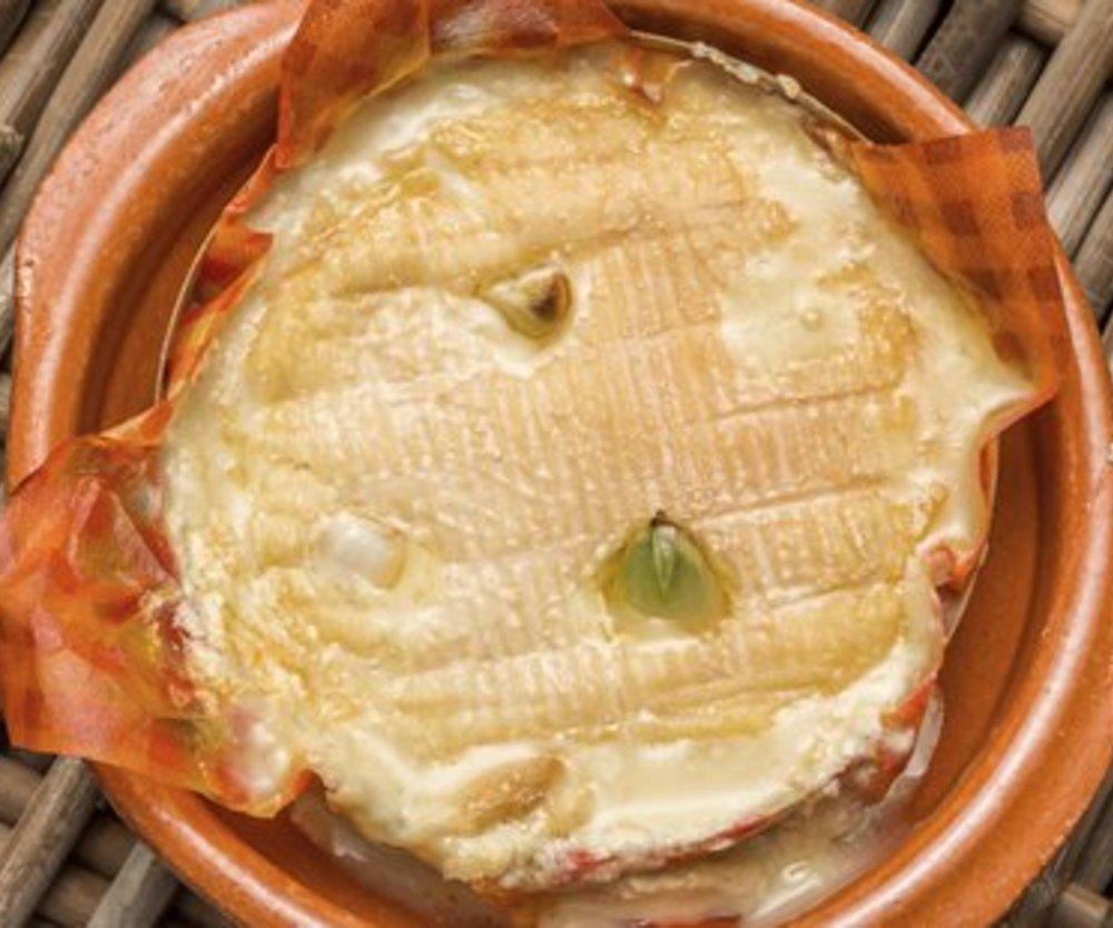 Camembert überbacken