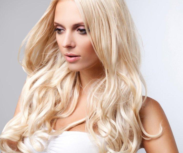 haare selbst färben blond