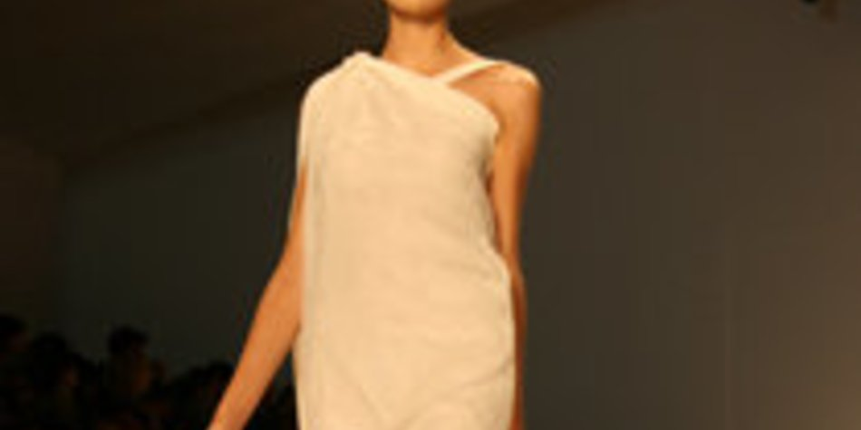 Tony Cohen auf der Fashion Week