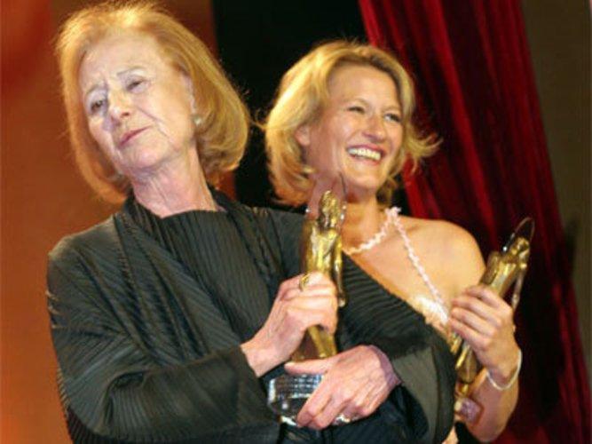 Schauspielerinnen: Rosemarie Fendel und Suzanne von Borsody