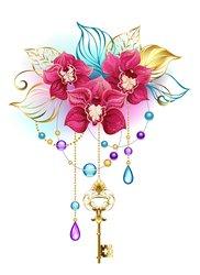 Orchideen Tattoo Motive