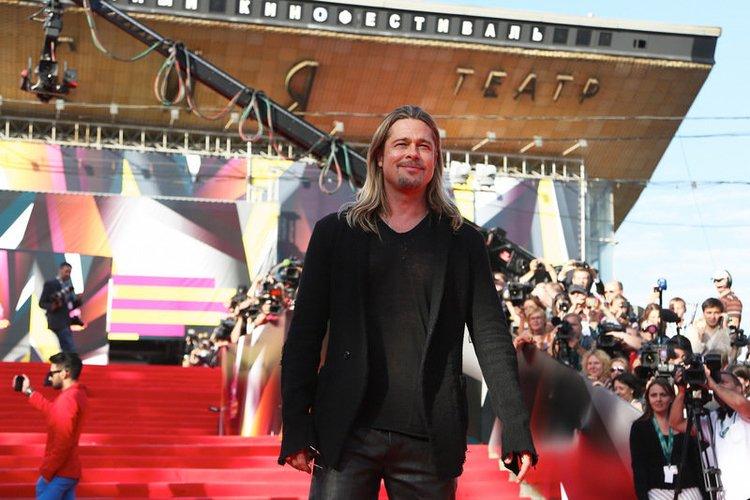 "Brad Pitt ist auf dem ""International Film Fest"" in Moskau"