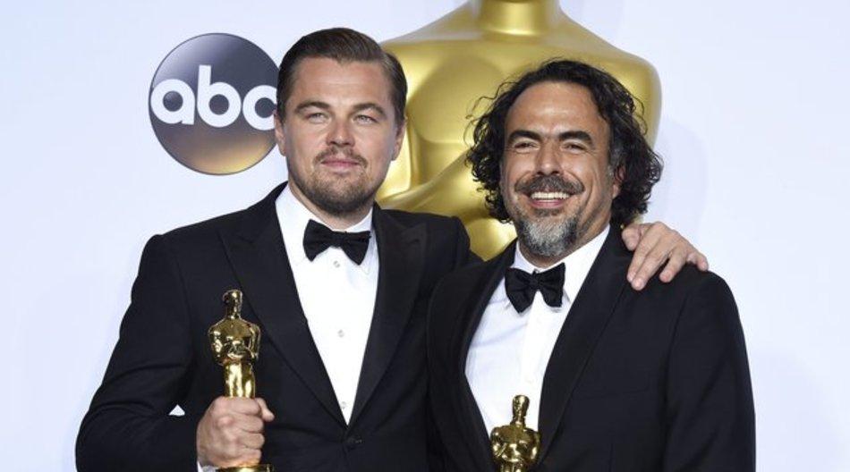 """Bester Hauptdarsteller und beste Regie für """"The Revenant"""": Leonardo DiCaprio und Alejandro González Iñárritu."""