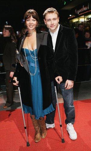Max Riemelt mit Jessica Schwarz