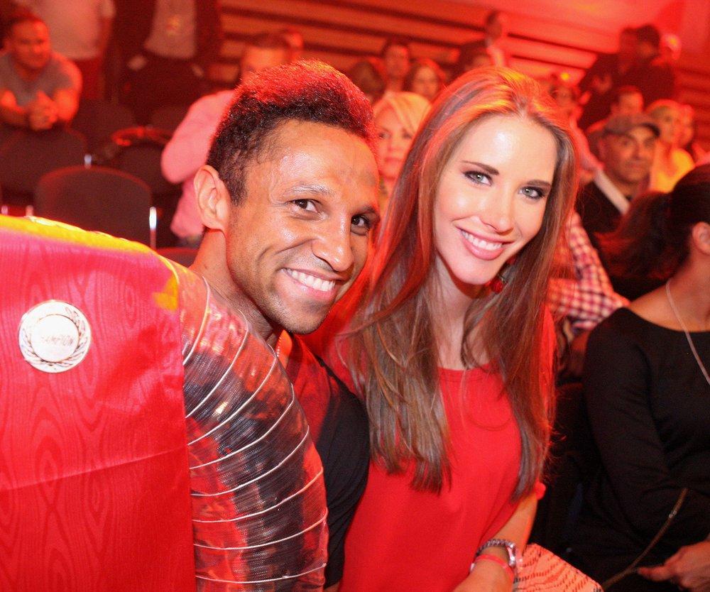 Daniel Aminati zeigt seine Freundin Anja