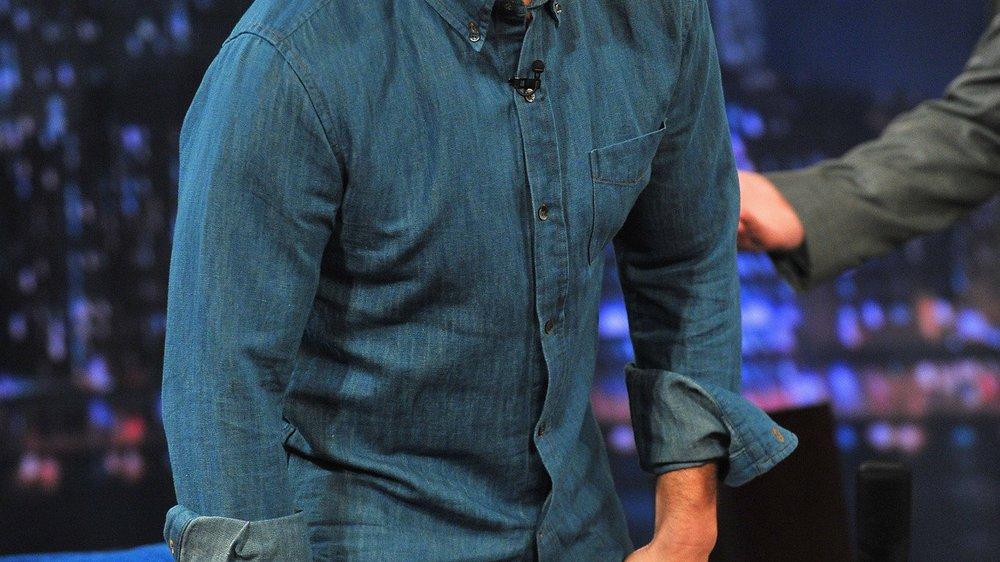 Tom Cruise trägt am Filmset Tangas