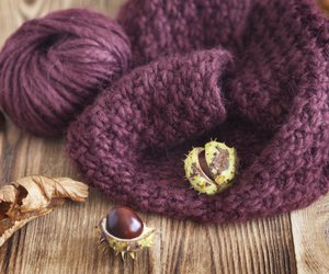 Arm-Knitting: So strickst Du einen Loop-Schal