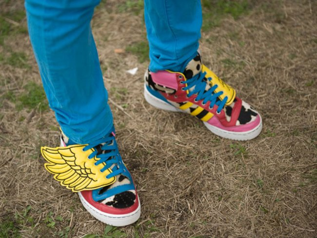 Jeremy Scott X Adidas Wings