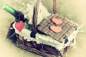 Geschenkkorb zur eisernen Hochzeit