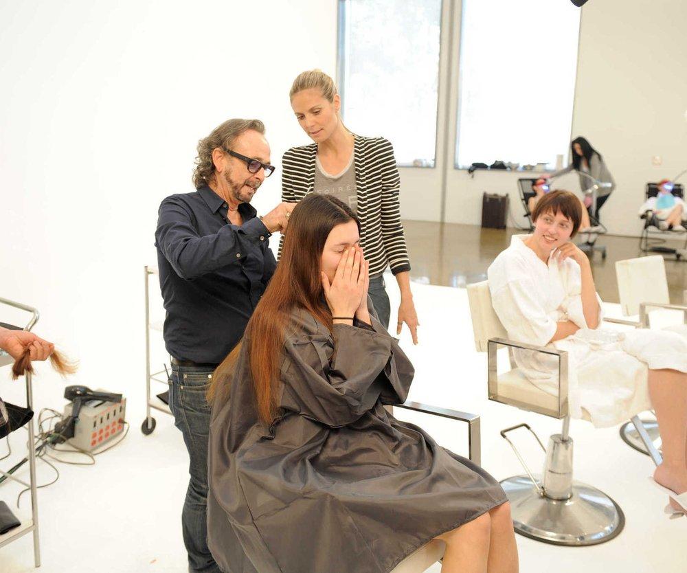 Germanys Next Topmodel: Das gefürchtete Umstyling steht an!