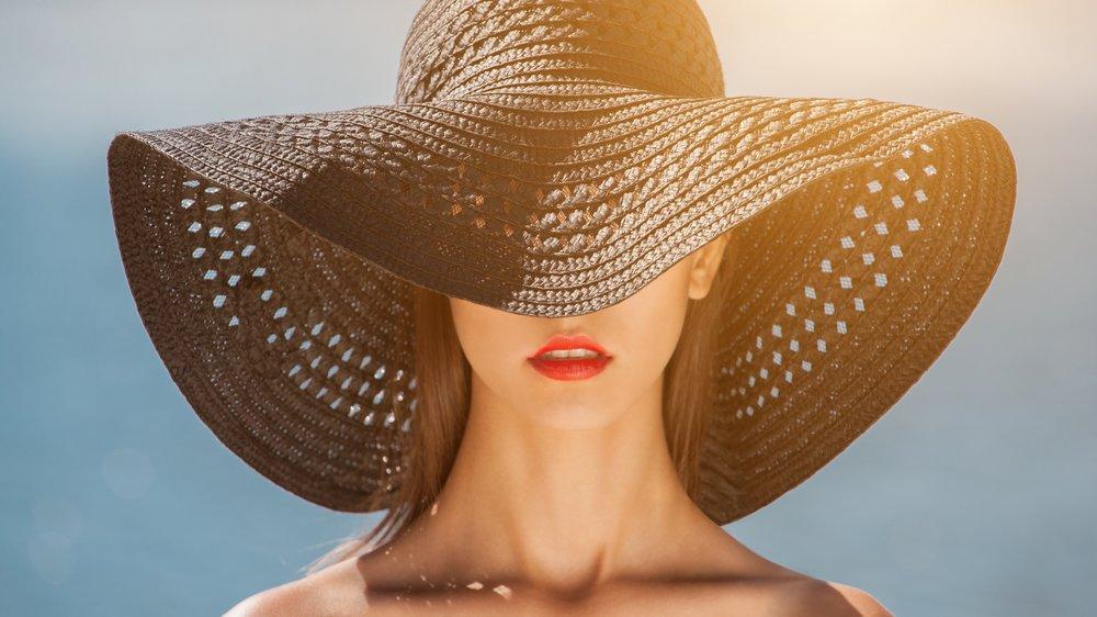 Sonnenhut schützt vor Hitze