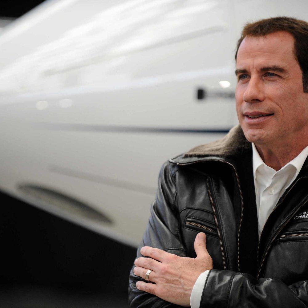 John Travolta besitzt neues Flugzeug