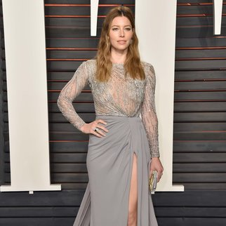BEVERLY HILLS, CA - FEBRUARY 28: Actress Jessica Biel attends the 2016 Vanity Fair Oscar Party Hosted By Graydon Carter at the Wallis Annenberg Center for the Performing Arts on February 28, 2016 in Beverly Hills, California. (Photo by Pascal Le Segretain/Getty Images)