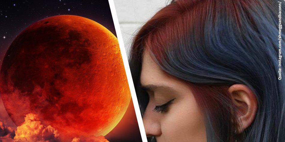 blood moon hair