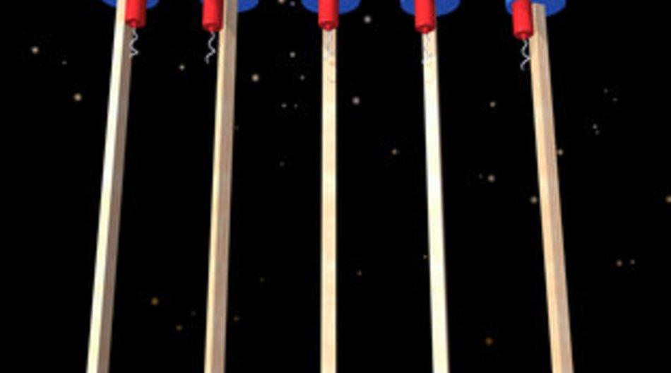 Feuerwerk: Verkauf in Spielwarengeschäften erlaubt