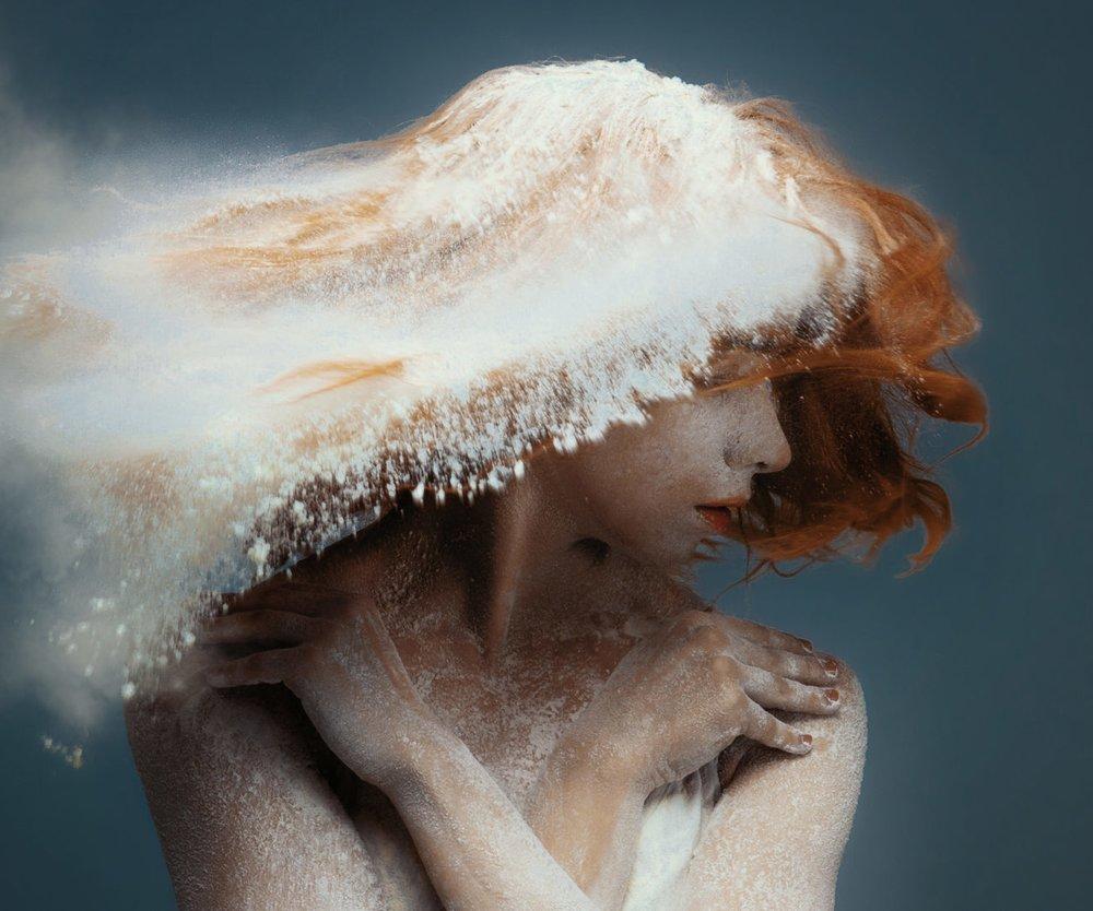 Haare waschen mit Roggenmehl
