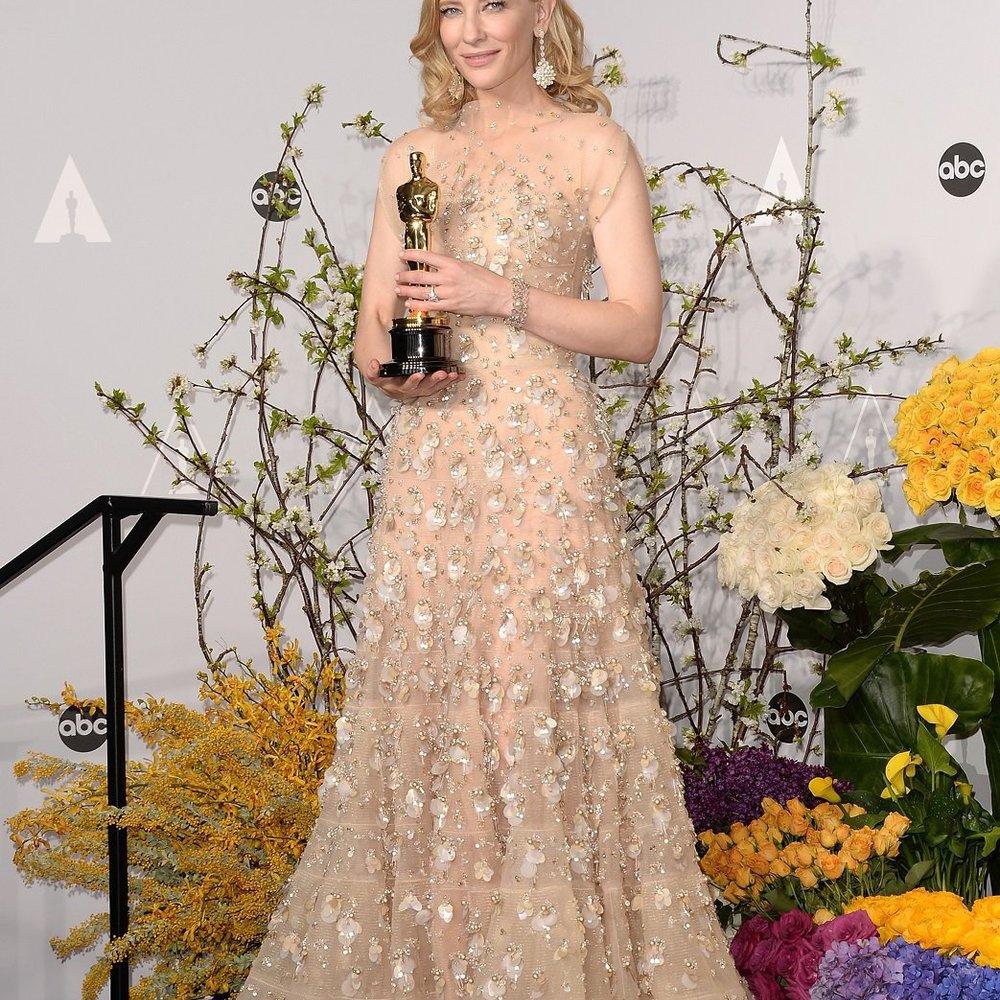 Cate Blanchett schlief nach der Verleihung mit ihrem Oscar im Bett