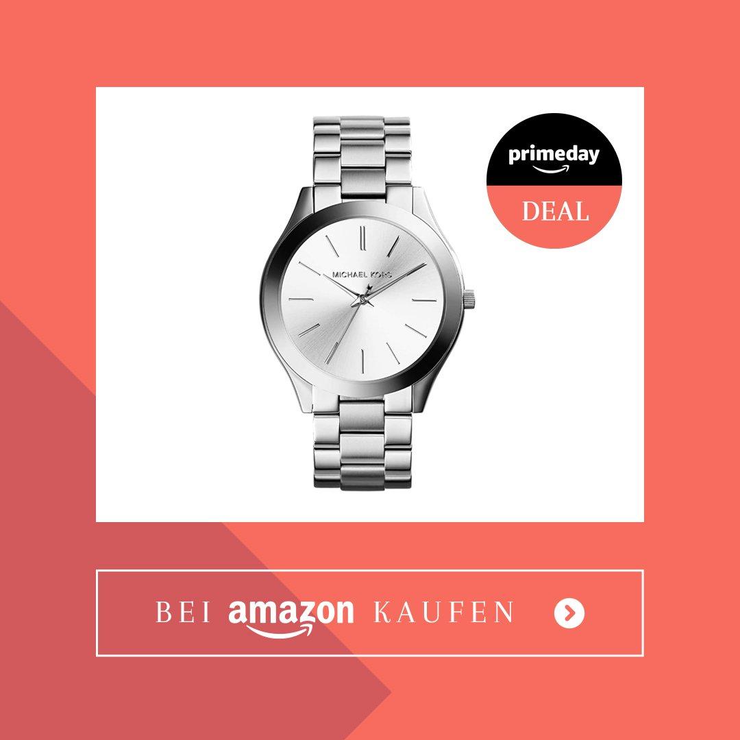 Amazon Prime Day Michael Kors Armbanduhr silber