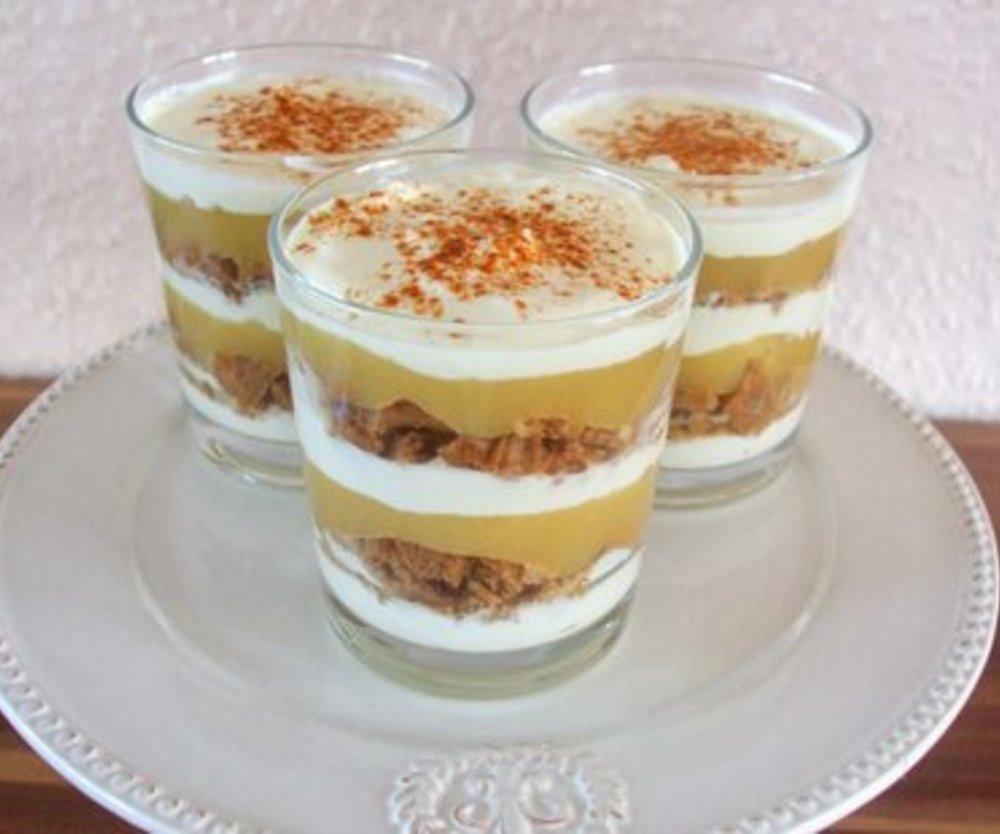 Apfel-Spekulatius-Dessert I