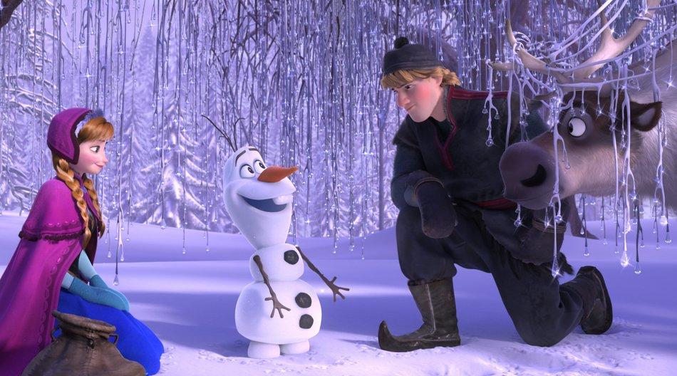 """Anna, Olaf, Kristoff und Sven aus """"Frozen"""""""