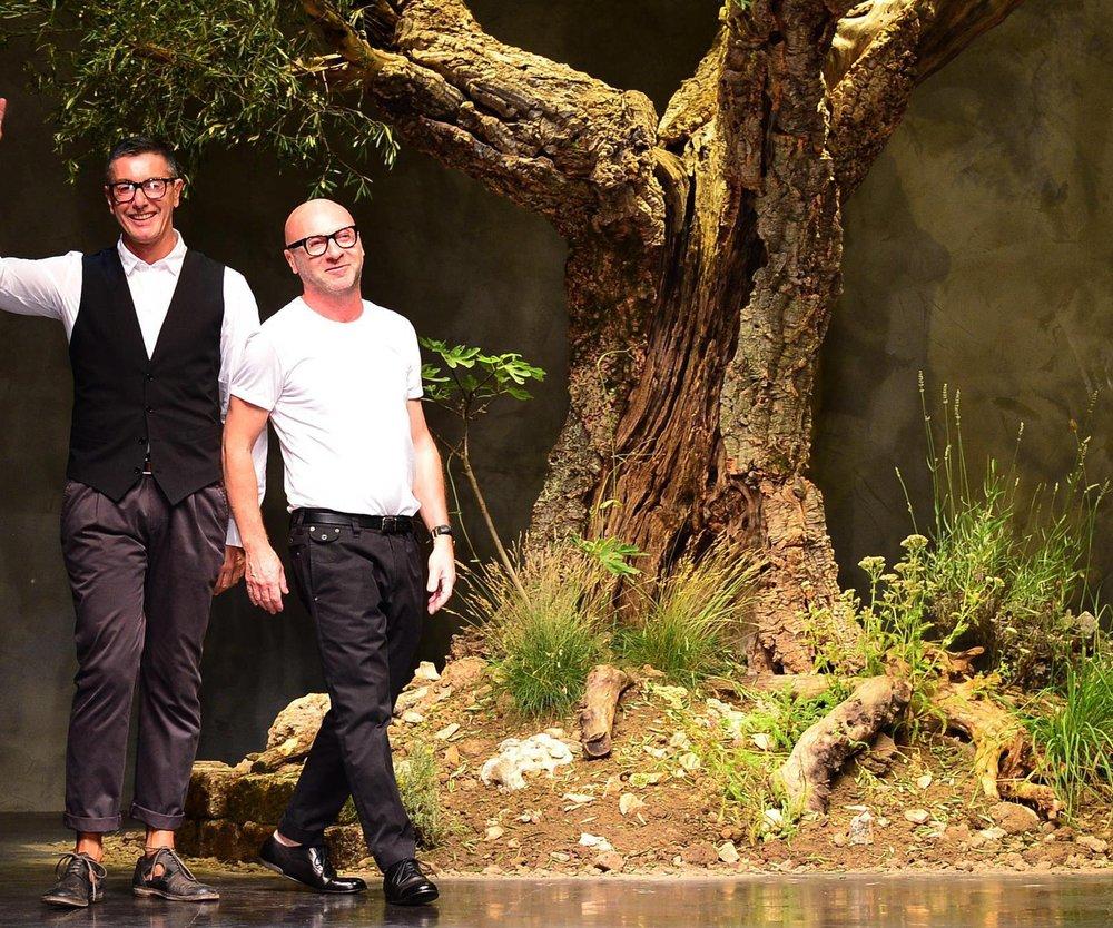 Dolce & Gabbana: Berliner Flitzer stürmt den Runway