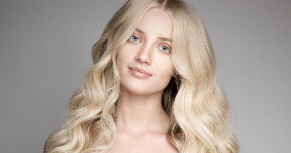 Mittelblond blondierte tönen haare Straßenköterblond