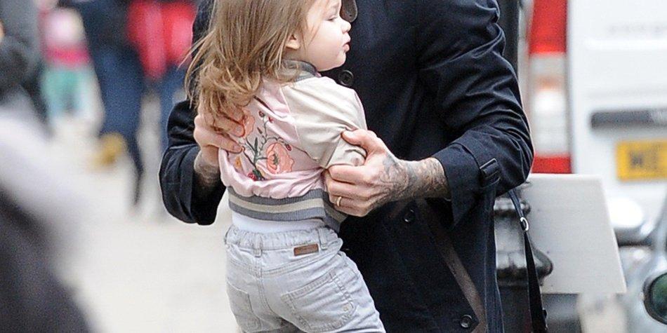 David Beckham kann sich gegen Harper nicht durchsetzen