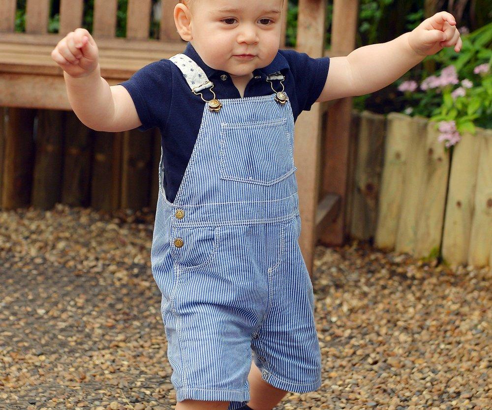 Prinz George ist der Modischste!