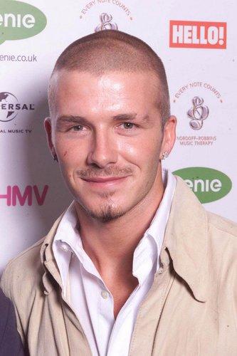 David Beckham auf der Silver Clef Awards-Verleihung