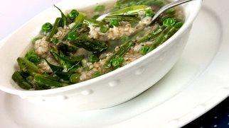 Minestrone mit Reis