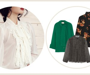 Retro-Trend Schluppenbluse: So stylen Sie das It-Piece