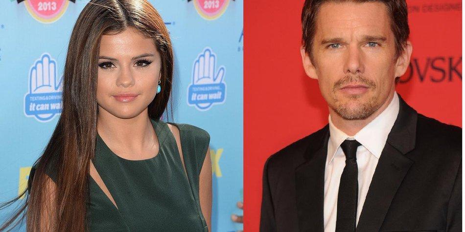 Selena Gomez und Ethan Hawke haben voreinander gelernt
