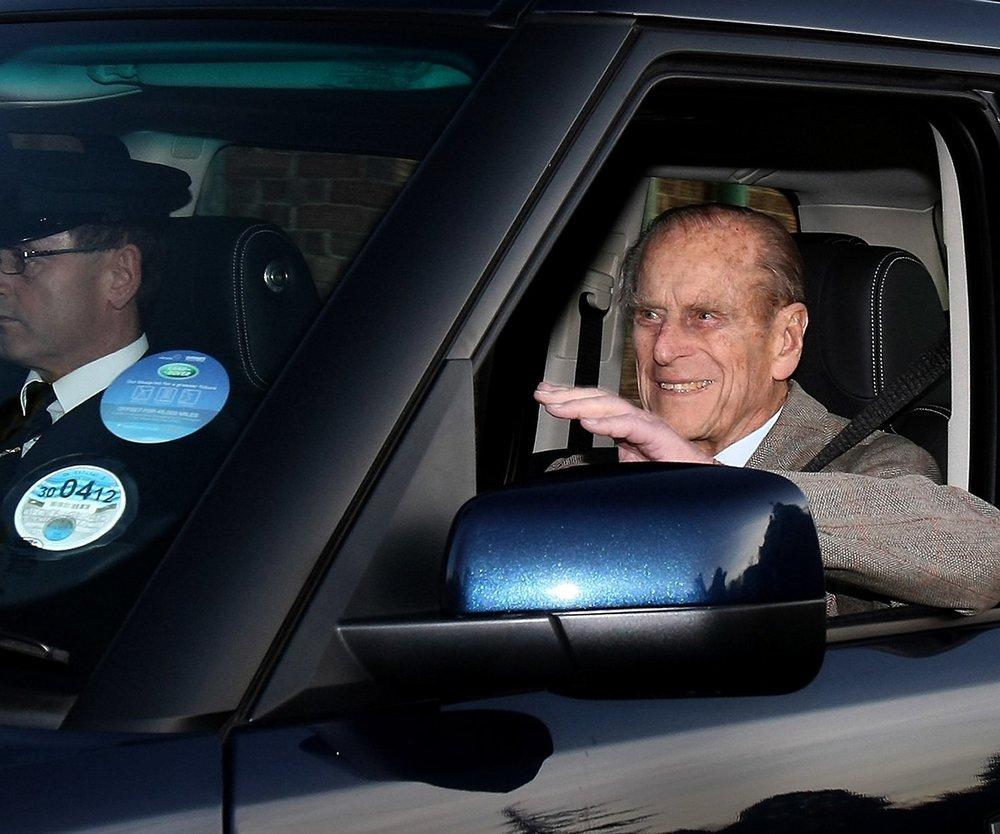 Prinz Philip ist wieder zuhause