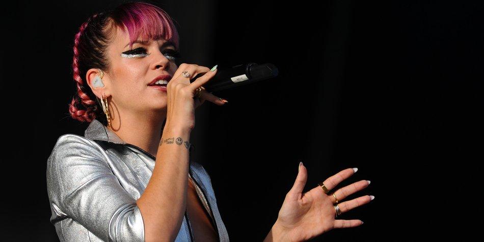 Lily Allen vergießt Tränen für gute Songs