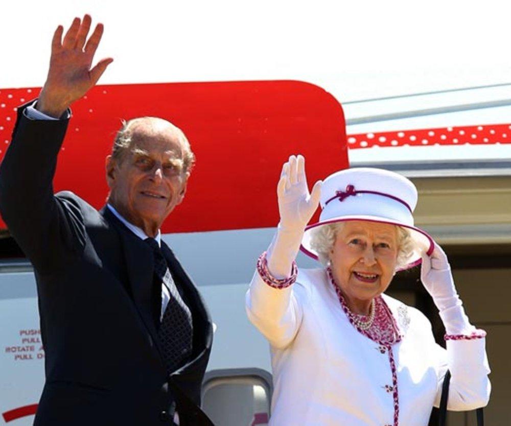 Königin Elisabeth II. und Prinz Philip
