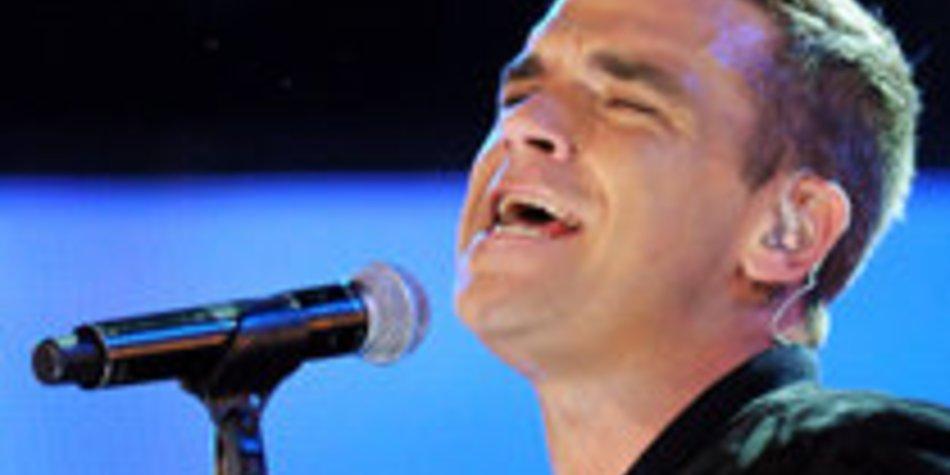 Robbie Williams vergisst seinen Text
