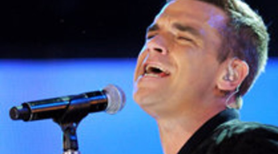 Robbie Williams vergisst seinen Text