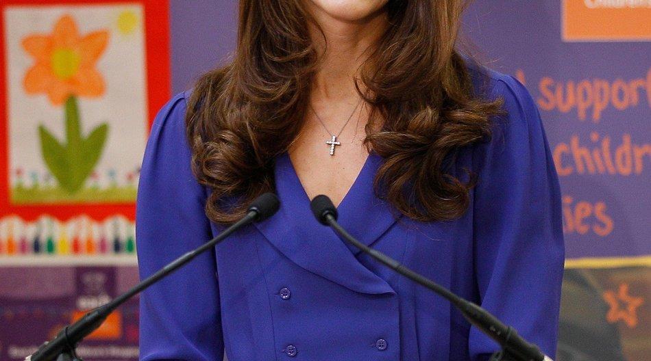 Kate Middleton hält ihre erste Rede